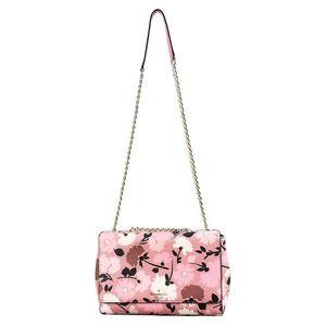 KATE SPADE Briar Lane Leather Floral Handbag